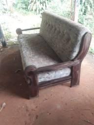 Título do anúncio: sofá madeira maciça