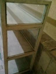 Balcao de Vidro/ Aço