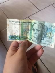 Vendo para colecionador de dinheiro