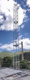 Torre auto portante Galvanizada