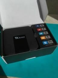 Smart Tv Box Tx3 Mini Nova 2GB Ram 16GB Armazenamento Interno Android 7.1