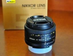 Lente 50mm 1.8 Nikon