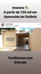Casas 2 e 3 Qts Entrada Facilitada 1+12 em Aparecida de Goiânia