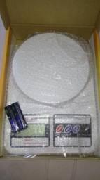 Balança digital de cozinha pesa 1 grama a 10 quilos