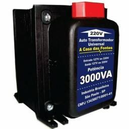 Transformador novo 3000va com termostato