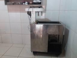 Máquina de fazer picolé e sorvete