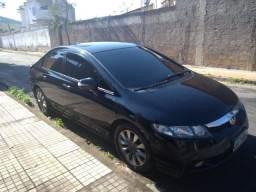 Honda Civic Lindo Automático Com GNV Couro Multimídia   2010