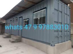 Kit net duplo 30m2 com 2 quartos, hostel, pousada container condomínio em Itajai