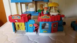 Cidade Litlle People Fisher Price