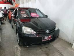 Toyota Etios Sedan 2015 1 mil de entrada Aércio Veículos ddx - 2015