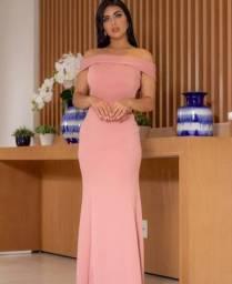 Vendo vestido de festa rose tamanho M