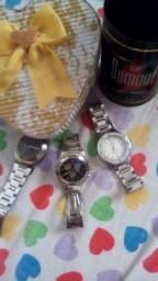 APROVEITE A PROMOÇÃO !Três relógios lindos / femininos