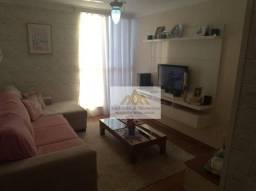 Apartamento com 3 dormitórios à venda, 69 m² por R$ 240.000 - Jardim Paulistano - Ribeirão