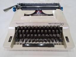 Máquina de escrever Remington 20 super conservada