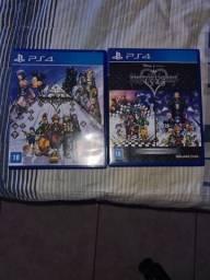 Coletânea Kingdom Hearts PS4