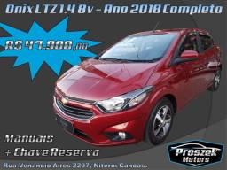 Chevrolet Onix 1.4 8V LTZ - Ano 2018 Completo