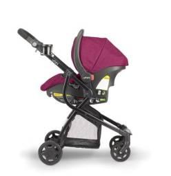 Carrinho + bebê conforto + Moisés- Urbini Omni Plus 3 in 1 Travel System
