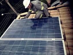 Gerador de energia Solar Fotovoltaica Enorme Economia de Energia