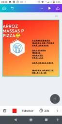 Fornecemos disco de pizza pré assado