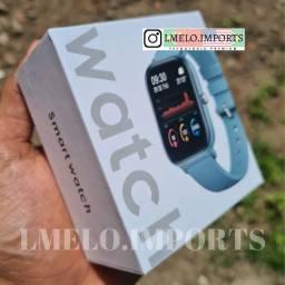 Smartwatch Colmi P8 Preto e Rose | Novo Lacrado na caixa 10x de 19 Cartão