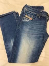 4 calças jeans DIESEL originais tam 36