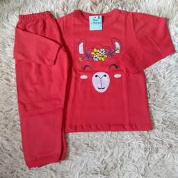 Pijamas  infantil -menina e menino