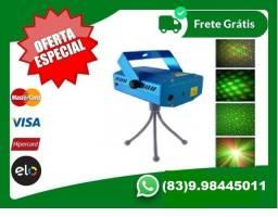 Mini Projetor Holográfico E Laser Stage Lighting-Te,entregamos.hj-