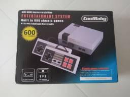Nintendo 8 bits com 600 jogos + cartão SD de 3gb