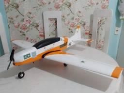 Kit Aeromodelo Tucano para montar (cortes isopor
