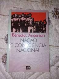 Livro 'Nação e Consciência Nacional' de Benedict Anderson