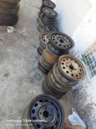 Rodas De ferro pra step ou reposicao