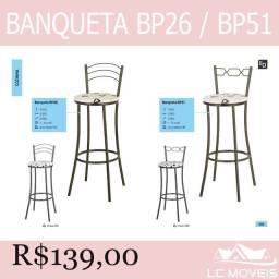 Cadeiras - aço - Garantia de entrega e montagem