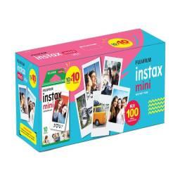 Kit com 100 filmes Instax Mini
