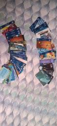 Coleção de cartão telefônico!