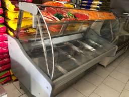 Balcão açougue refrigerado placa e serpentina todo revisado