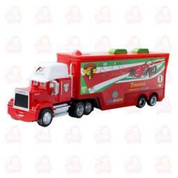 Título do anúncio: Caminhão com carro diversos The King Mcqueen Francesco