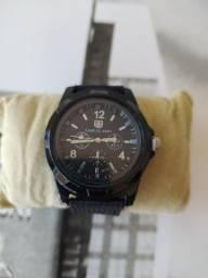Relógio analógico a bateria