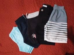 Lote de roupa infantil menino.