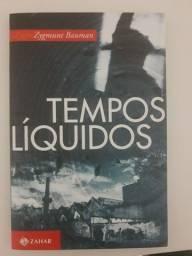 Livro Tempos Líquidos   Bauman - 40 Reais