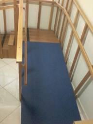 fisioterapia, biombo, escada.