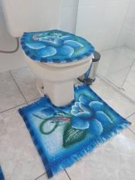 Tapete Tear De Banheiro Feito a Mão
