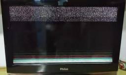 """Tv Philco 32"""" com defeito para retirada de Peças"""
