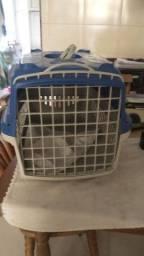 Caixa de transporte grande para gato, cachorro e animais