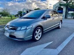 Honda Civic LXS Automático com couro - Lindo carro - Pronto pro uso