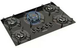 Vendo Coktop a gás 5 bocas tripla chama Itatiaia bivolt NOVO na caixa R$499,00