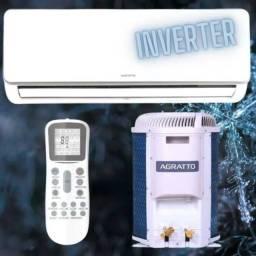 Ar Split Agratto Inverter 12.000 BTUs + Nota + Garantia + Aceito Cartão