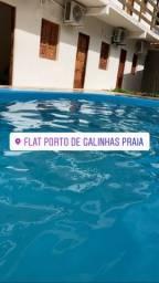 Flat em Porto de Galinhas com piscina