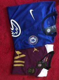 Camisa Paris e Chelsea