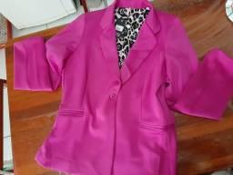 Blazer pink Plus size GG 48