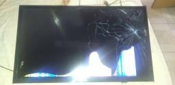 Tv 32 pol para retirar peças